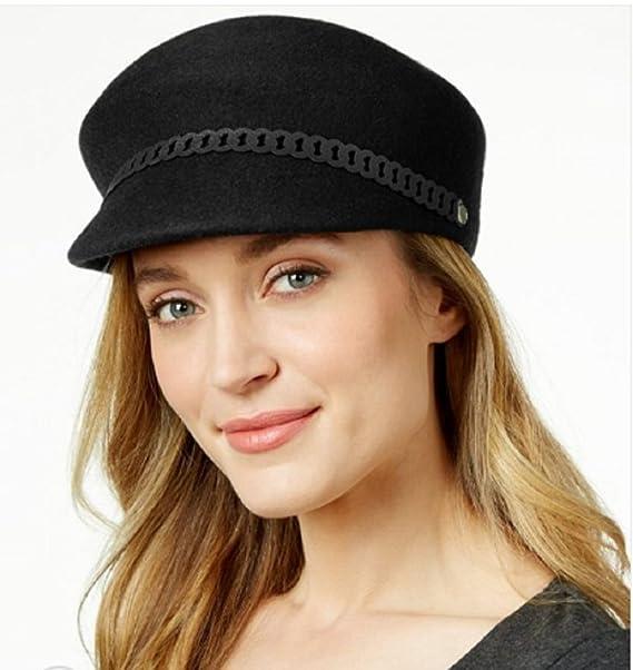a0653b91dd0 Nine West Felt Newsboy Hat at Amazon Women s Clothing store