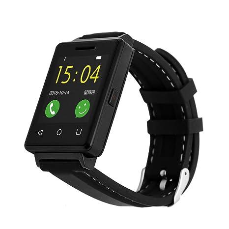 Los hombres de la actividad Tracker con Smart reloj, cronómetro/remoto de la cámara