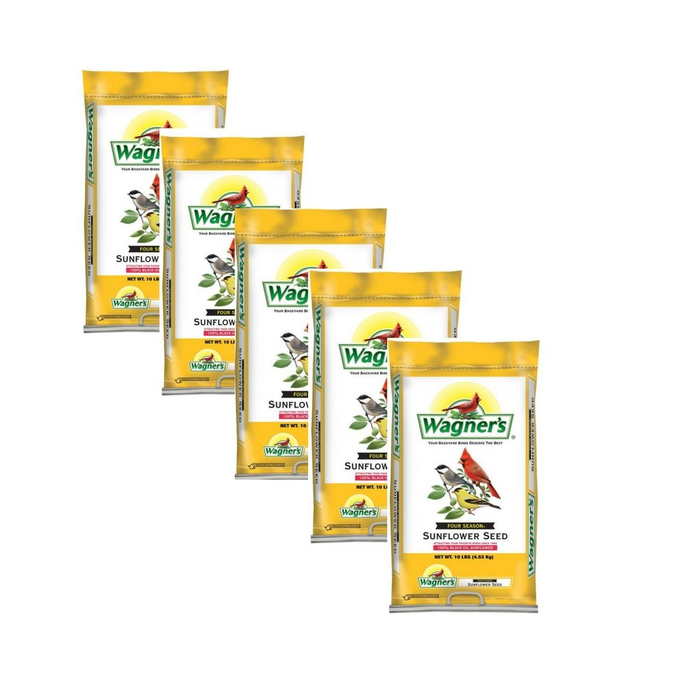 Wagner's 76025 Black Oil Sunflower Seed, 50 pound