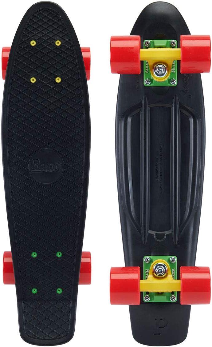 22 inches, Green Goddessvan Skateboard Complete 22 inches Mini Anti-Slip Cruiser Penny Board for Teens Beginners
