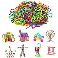 TEMSON Colorful Sticks Creative Building Blocks Learning Toy Set Perfect Gift for Kids Classic Colorful DIY Mini Building Blocks Educational Kids Puzzle Construction Toy Mega Jumbo Pack of Multi Colored Educational Learning Building Blocks Smart Stick with Different Shape Game Set for Kids