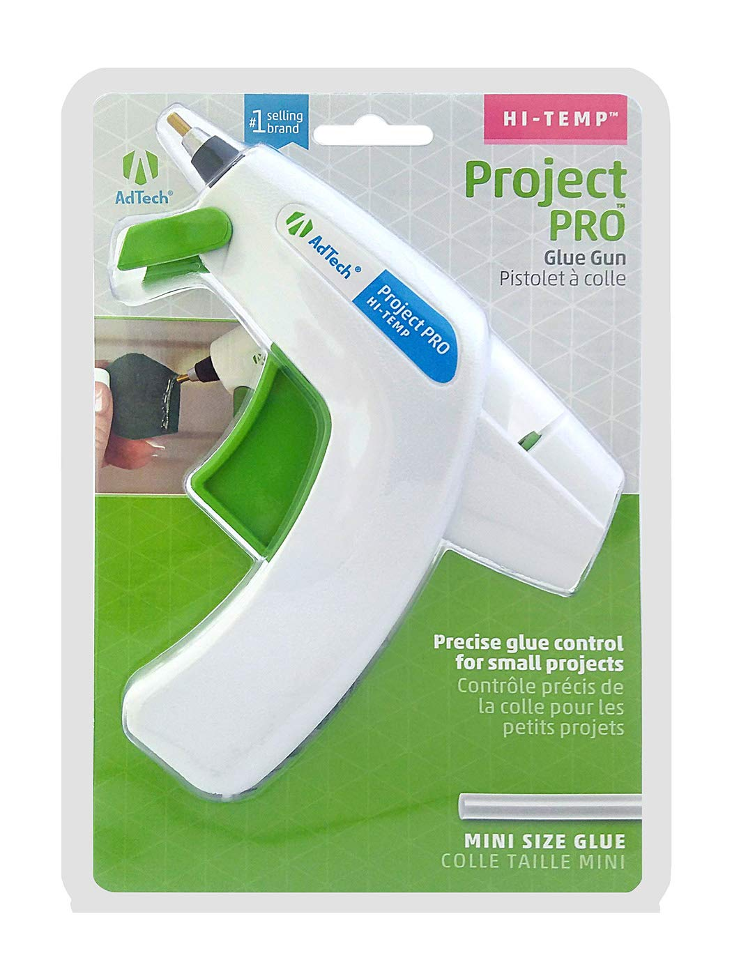 Clear Glue Sticks and Glue Runner AdTech W05643 Crafters Gift Pack with Detailer Glue Gun