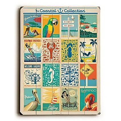 eed08b5de7613 Amazon.com: Coastal Collection by Anderson Design Group 25