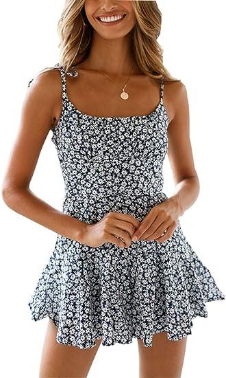 Off Shoulder Ruffle Floral Print Crop Top Shorts Set Boho Floral Print Romper Jumpsuit Womens 2 Piece Outfit