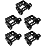 1 - Pack Low Profile 140 mm Mega Cargo Control Truck Portable Winch Flatbed Trailer Winches for 2-4 Winch Strap