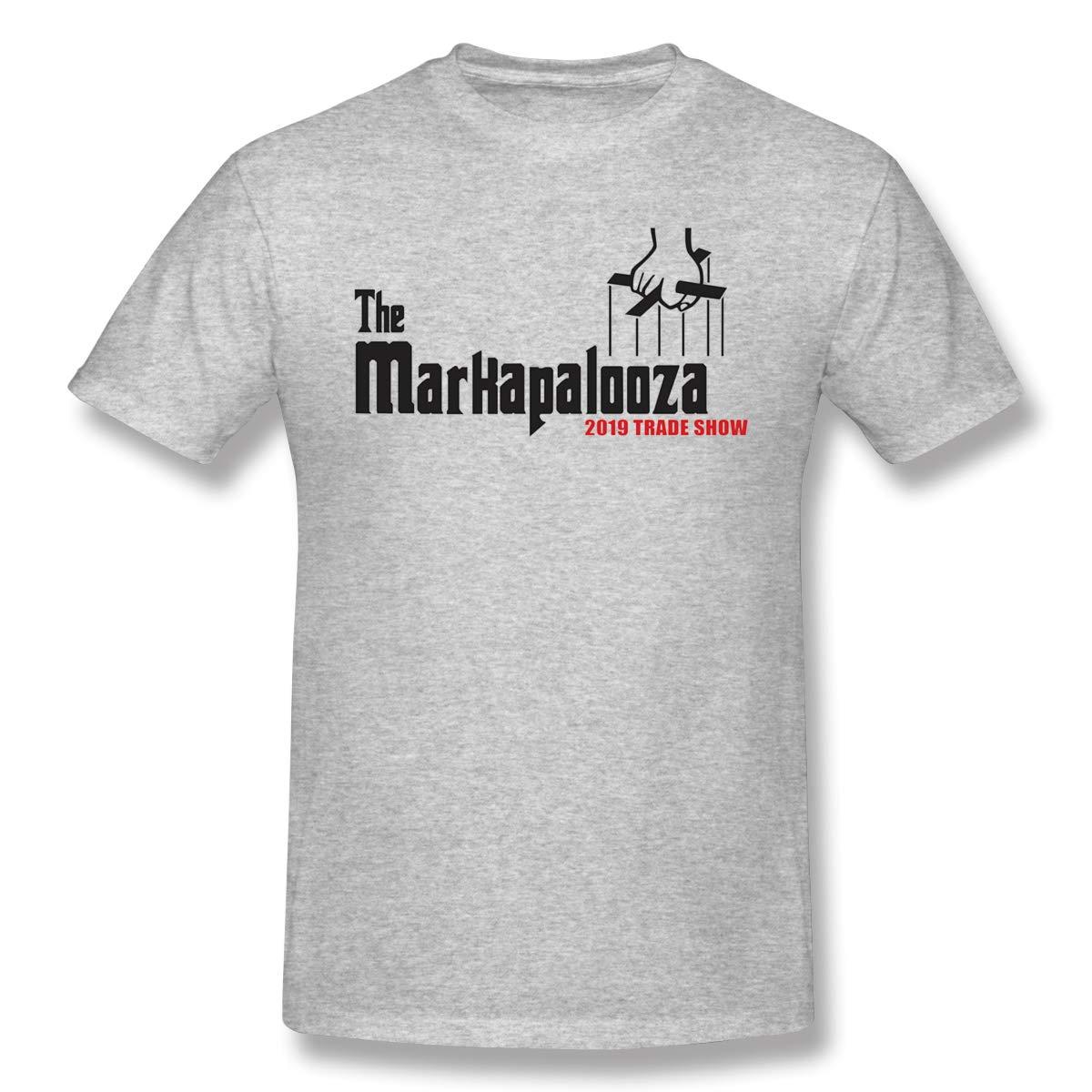Man The Markapalooza Trade Show Soft Gray T Shirt 4063