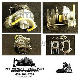 Caterpillar 2389349 238 - 9349 Turbocompresor repuesto Caterpillar Cat 3024 247B 257B Turbo: Amazon.es: Amazon.es