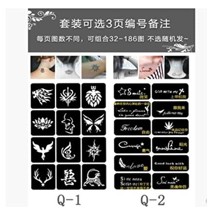 Tatuaje Totem Tattoo Sticker Dragon Wolf Head Pattern Wings Hombre ...