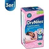 Drynites Mutandine Assorbenti per la Notte da Bambina, 17-30 Kg, 6 Confezioni da 10 Pezzi