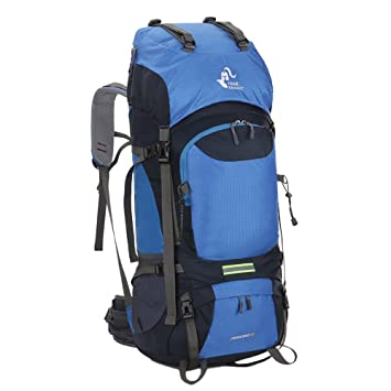 Skysper 60L Mochila de Senderismo Impermeable ergonómica Macutos de Senderismo para Montañismo Escalada Marcha Trekking Camping