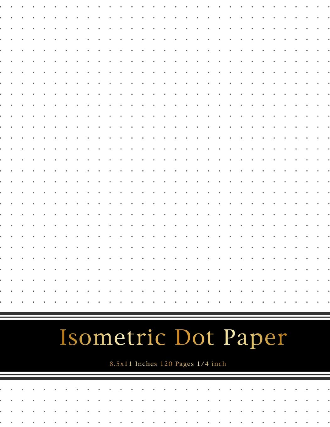 photo about Isometric Dot Paper Printable known as : Isometric Dot Paper: 1/4 inch Length In between