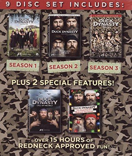 (Duck Dynasty Gift Set: Season 1 / Season 2 / Season 3 / Call of the Wild / I'm Dreaming of a Redneck Christmas)