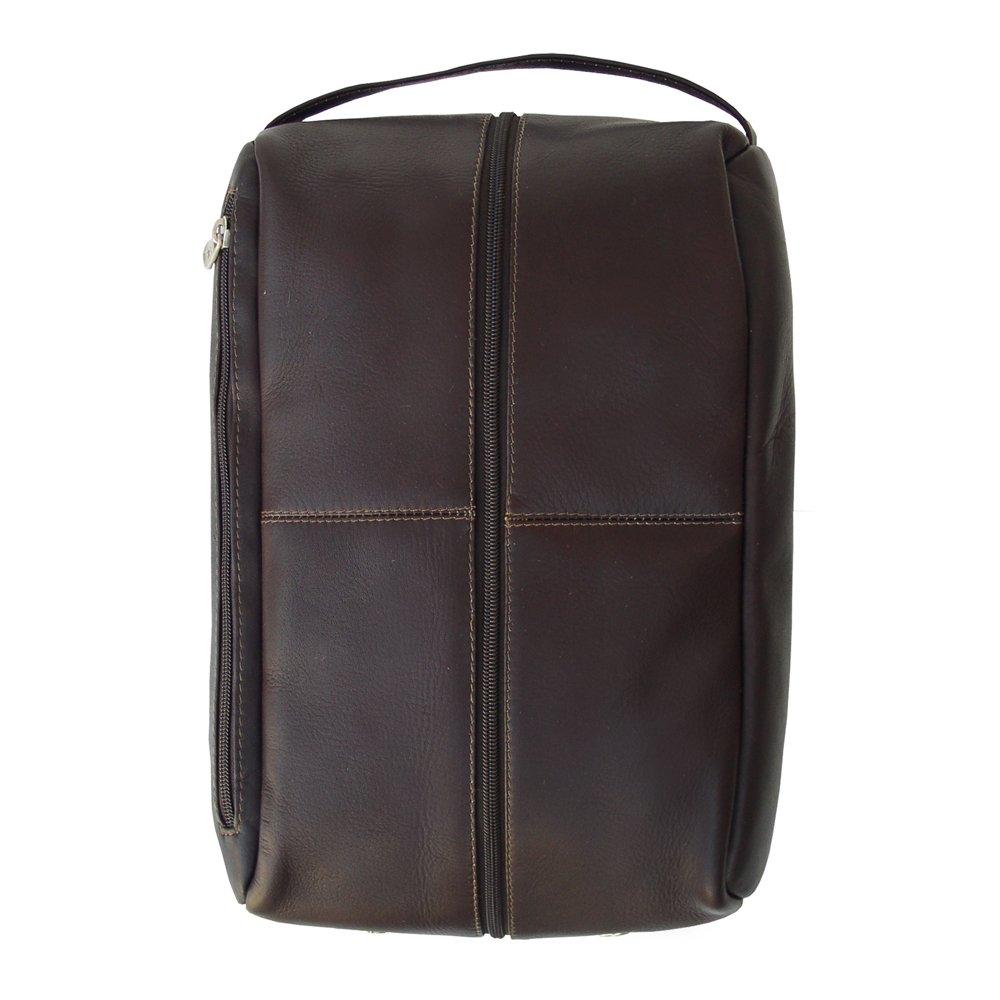 Piel 2041-CHC Chocolate Golf Shoe Bag   B002N0HEMW