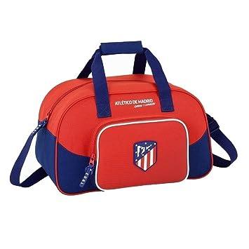 7aeeed433ec04 Safta Bolsa De Deporte Atlético De Madrid  quot Coraje quot  Oficial  400x230x240mm