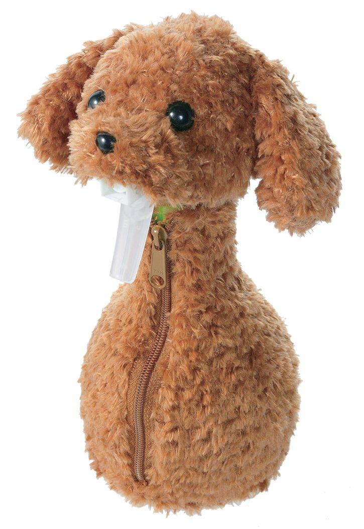 Myrna dress-up spray bottle cover Toy Poodle Brown