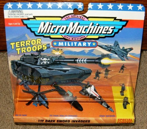 Micro Machines Dark Sword Invaders #17 Collection