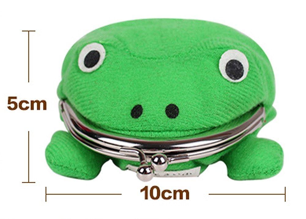 Cute Cartoon Frog Soft Plush Wallet Coin Purse Handbag