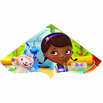 Sky Delta 42-inches Poly Delta Kite: DOC Mcstuffins: Toys & Games