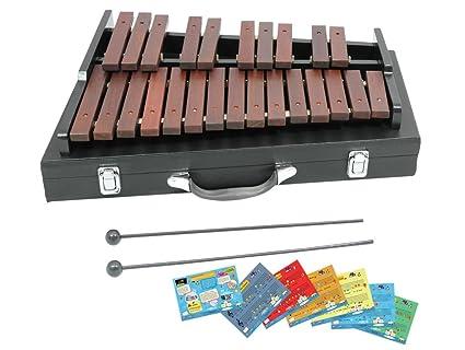 Amazon.com: DLuca XL225A 25 Notes Chromatic Wood Xylophone ...