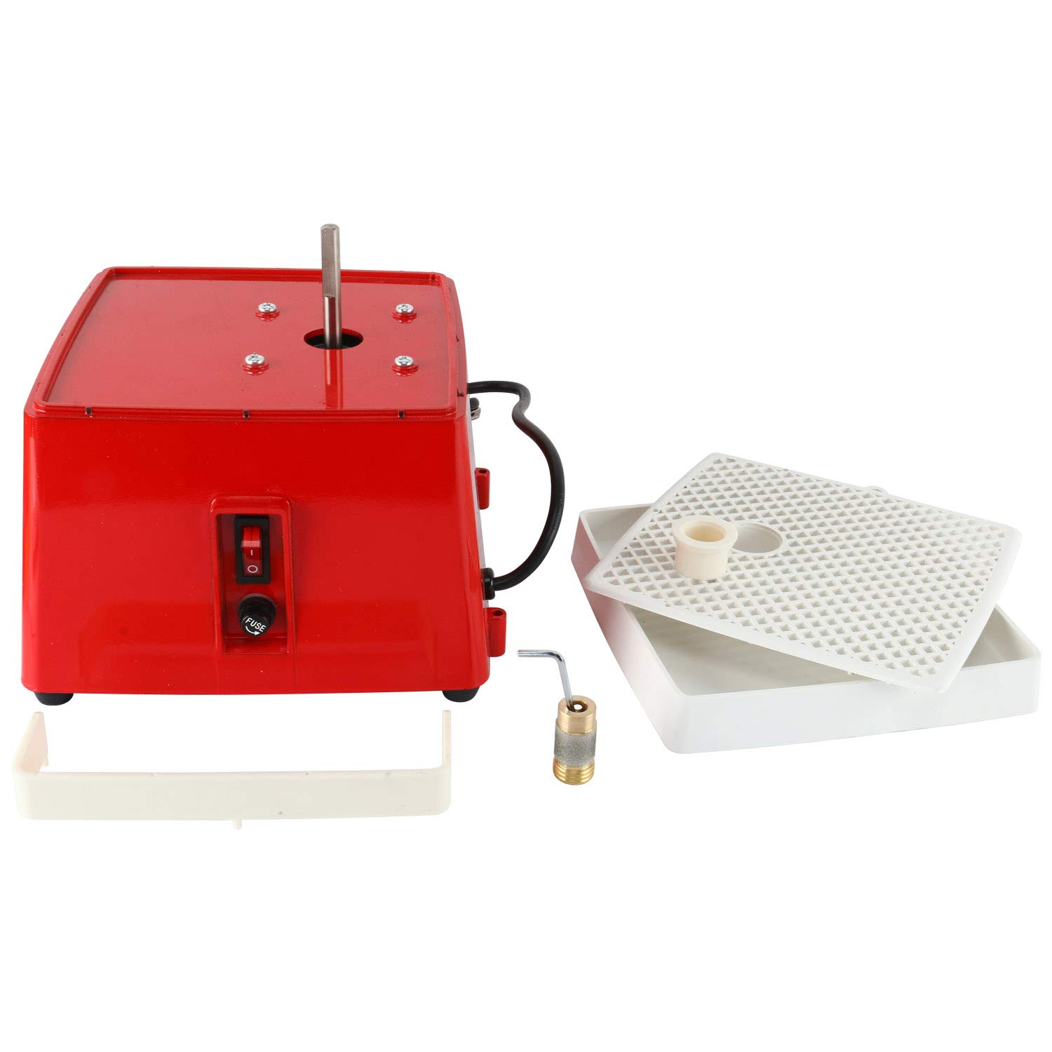 110V, 0.1A 65W Power Stained Grinder,Industrial Mini Portable Stained Grinder Diamond Glass Art Grinding Tool with Diamond Grinder Bit