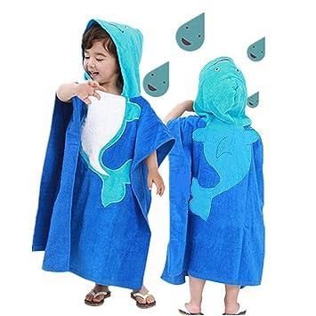 Baby Towel Soft Bath Robes For kids Kids Cartoon Hooded Wrap Washcloth cotton