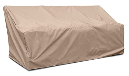 KoverRoos Weathermax 46450 Deep 3-Seat Glider/Lounge Cover, 89-Inch Width by 36-Inch Diameter by 33-Inch Height, Toast
