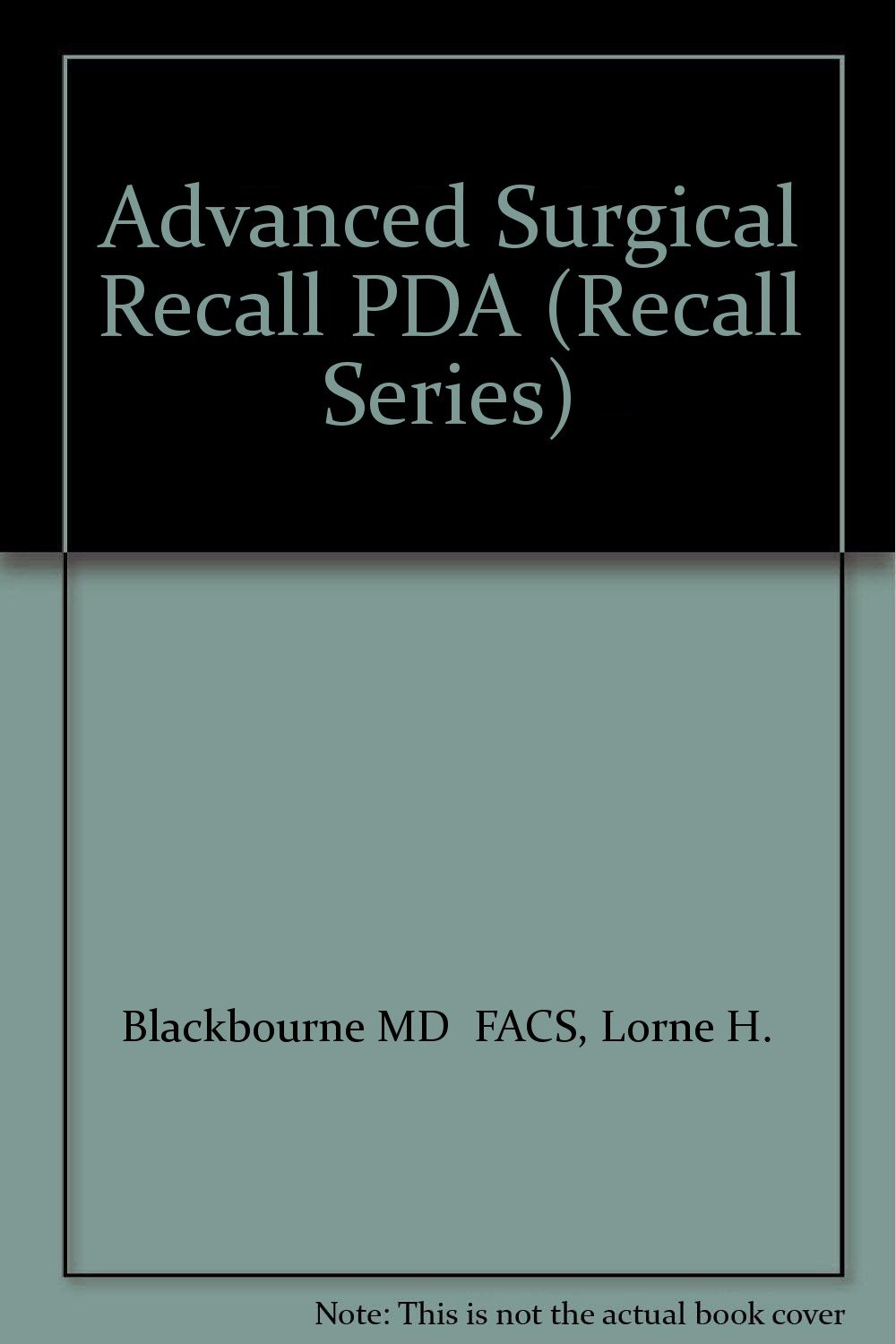 Buy Advanced Surg Recall PDA-Online Book Online at Low Prices in India |  Advanced Surg Recall PDA-Online Reviews & Ratings - Amazon.in