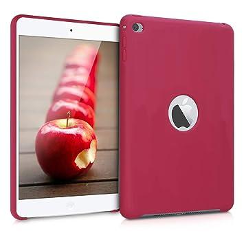 kwmobile Funda para Apple iPad Mini 4 - Carcasa de [Silicona] para Tablet - Case Trasero en [Fucsia Mate]