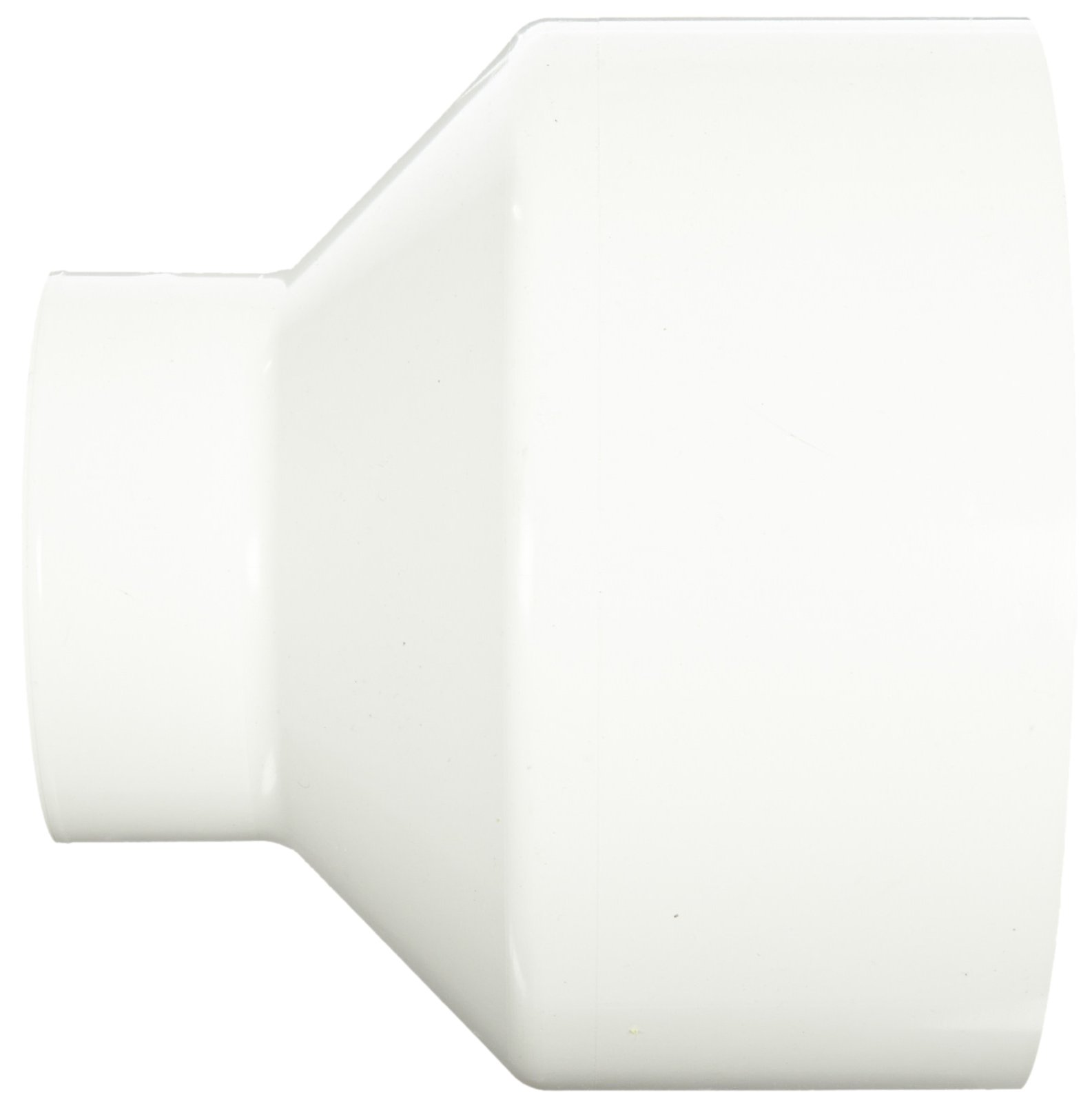 Spears P102 Series PVC DWV Pipe Fitting, Reducing Coupling, 8'' x 4'' Hub by Spears Manufacturing (Image #2)