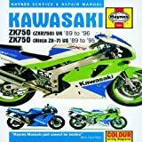 Kawasaki ZX750 Ninjas 2X7 and ZXR 750 (Haynes Service & Repair Manual) by J.J. Haynes (2010-06-01)