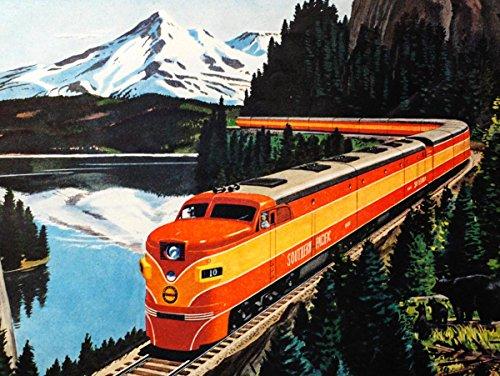 Poster Photo Train - 2