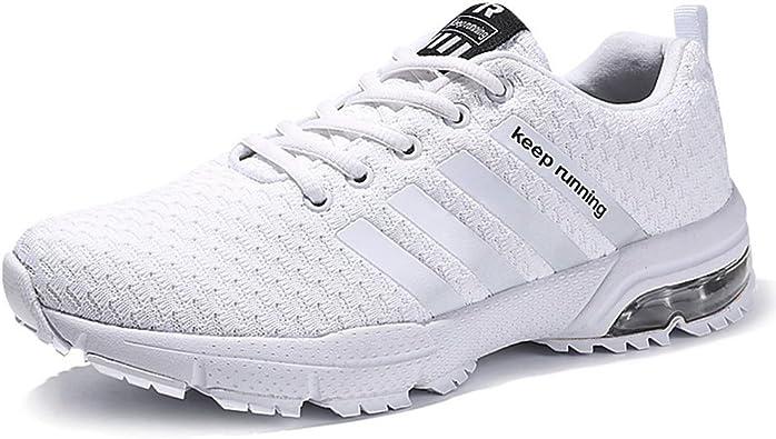 Senbore Zapatillas de Deporte Respirable Para Correr Deportes Zapatos Running Hombre: Amazon.es: Zapatos y complementos