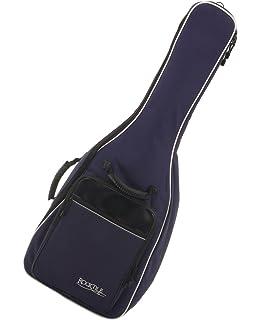 Rocktile 21129 - Funda guitarra clásica, correas acolchadas, mochila burdeos: Amazon.es: Instrumentos musicales