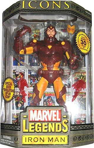 - Marvel Legends Icons Series 1 Iron Man 12