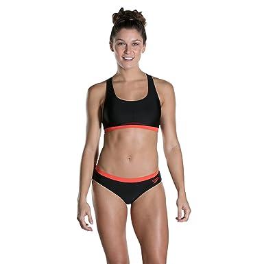 07362db1b8b Speedo Womens' Hydractive Swimsuit (Pack of 2): Amazon.co.uk: Clothing