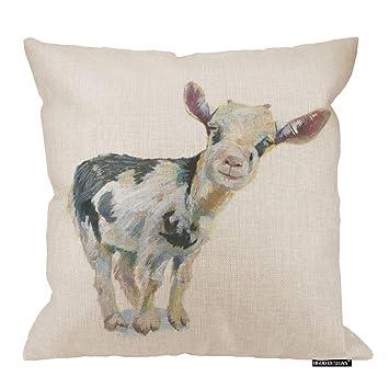 Amazon.com: HGOD DESIGNS Donkey Funny Throw fundas de ...