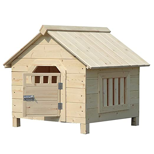Casa de madera maciza Casa de mascotas Casa nido Casa de gato y ...