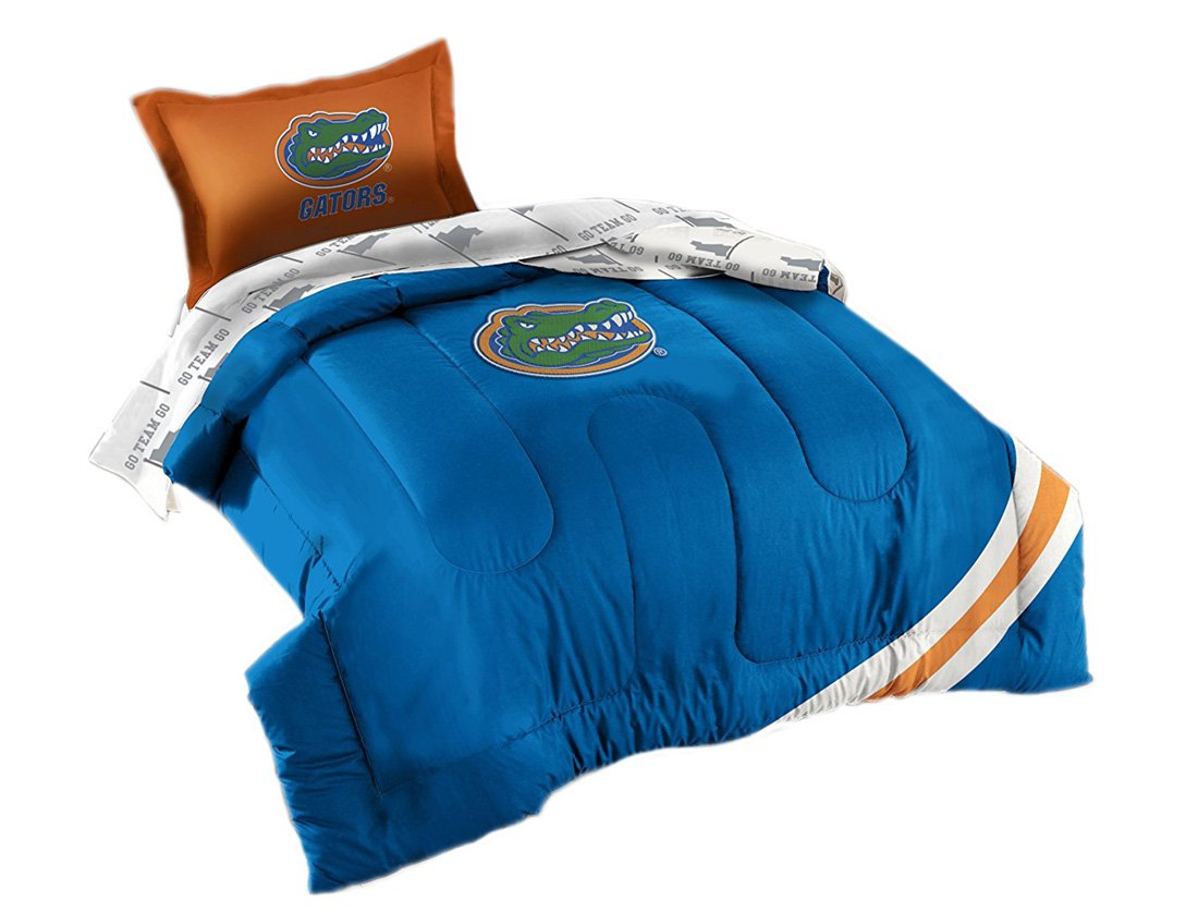 The Northwest Company Florida Gators NCAA Bed in a Bag (Kontrast Serie) (Twin)