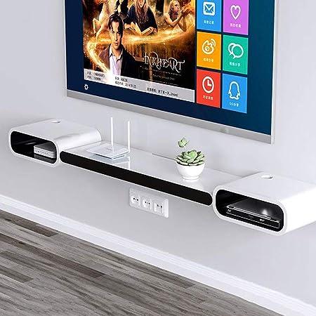 FENG-estante Estante de Pared TV montado en la Pared Armario/Estante Estante de Pared Estante de la Caja TV Consola Accesorios de repisa: Amazon.es: Hogar