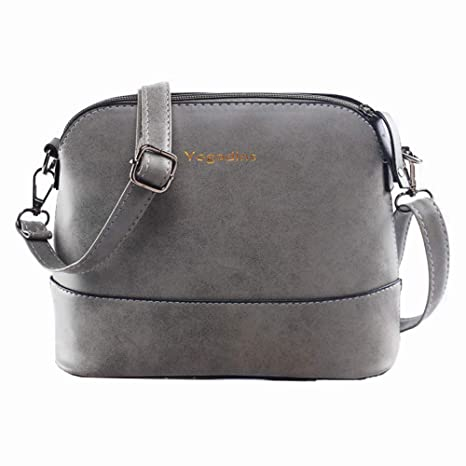 d02d3991b4 Image Unavailable. Image not available for. Color  GSYDXKB Women s Leather  Small Messenger Bag Sachet Shell Bag Nubuck ...