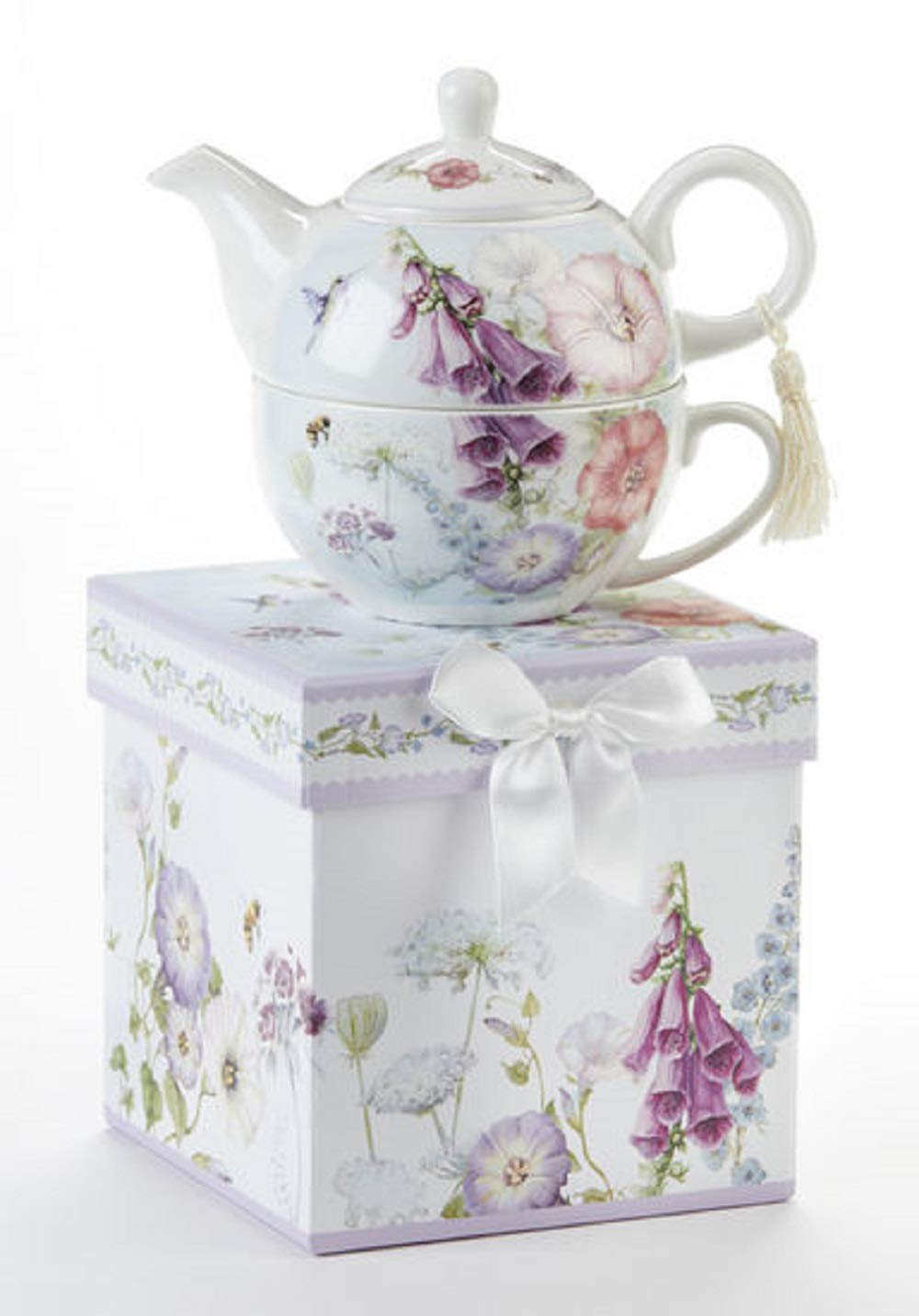 Delton Porcelain Bell Isle Tea For One