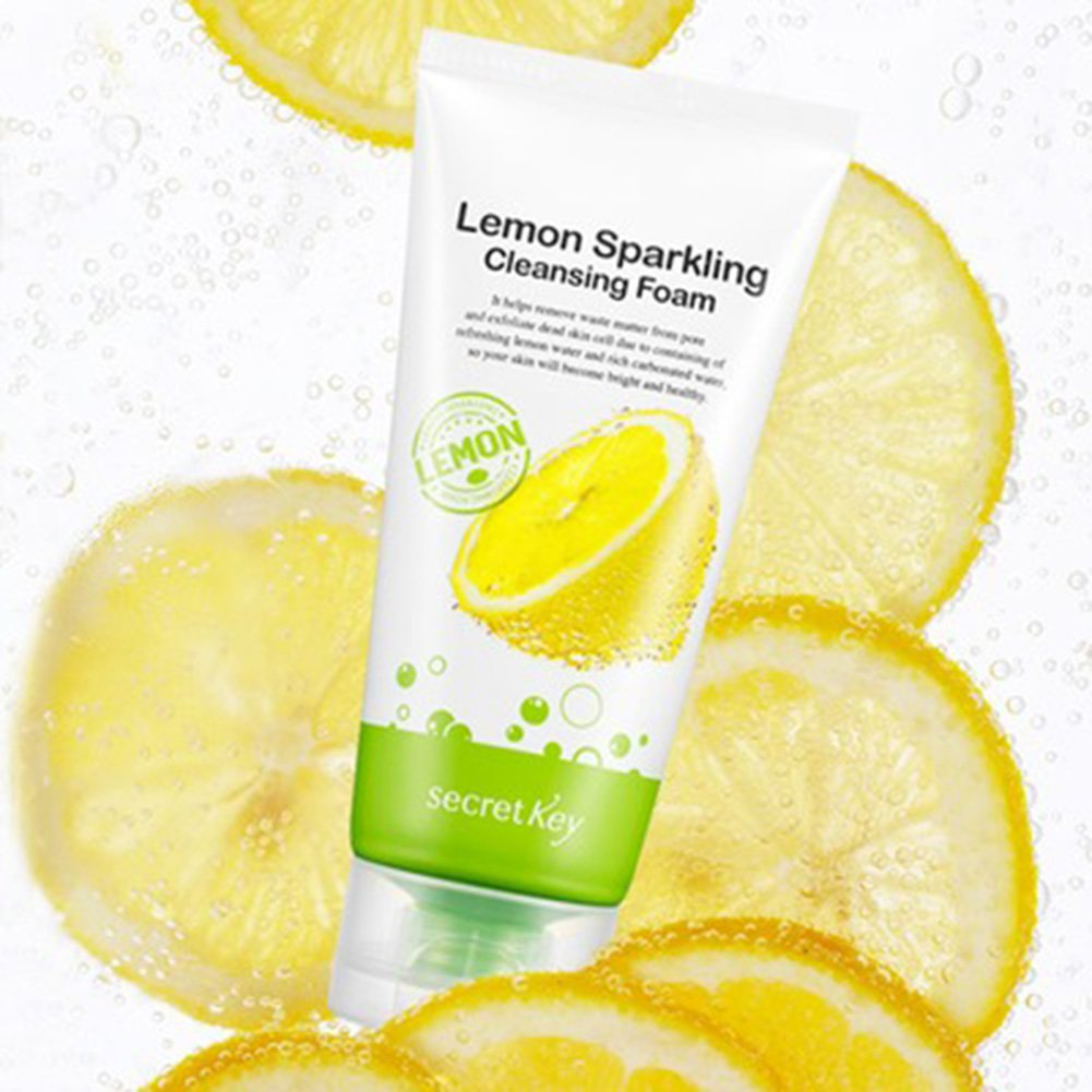 Secretkey [Secret Key] Lemon scintillante detergente in schiuma