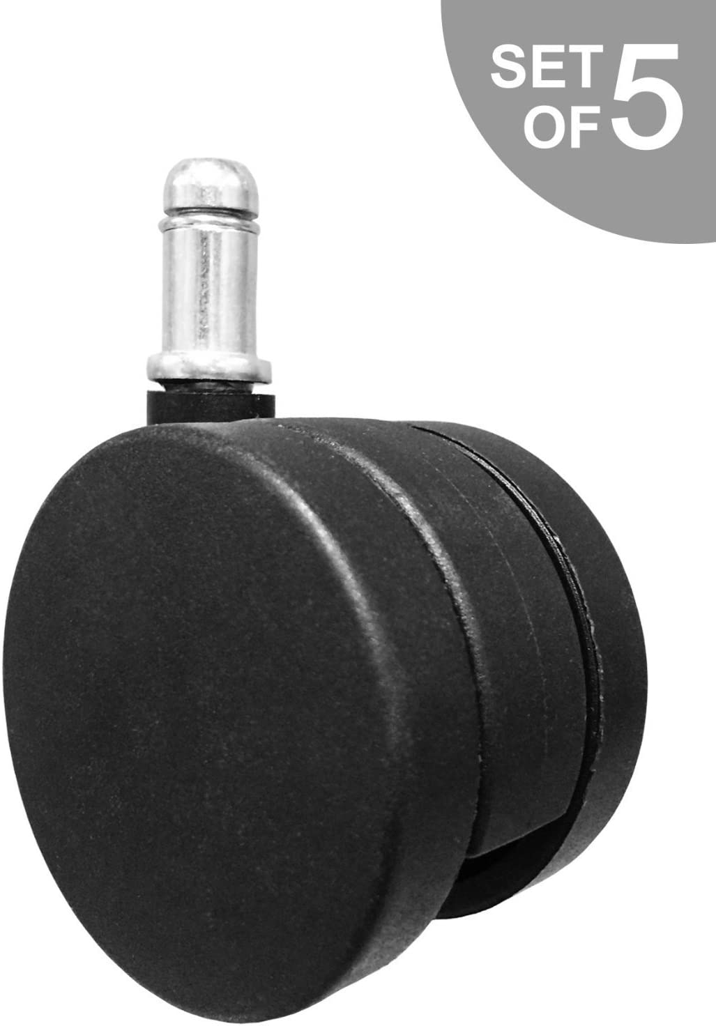 Hardwood Floors 5Pcs New Soft Caster Wheel for Herman Miller Aeron Embody Mirra Sayl Chiar