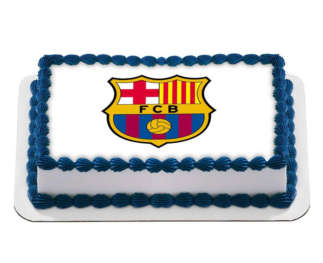 Logo de Club de Fútbol Barcelona Barça Comestible Glaseado ...