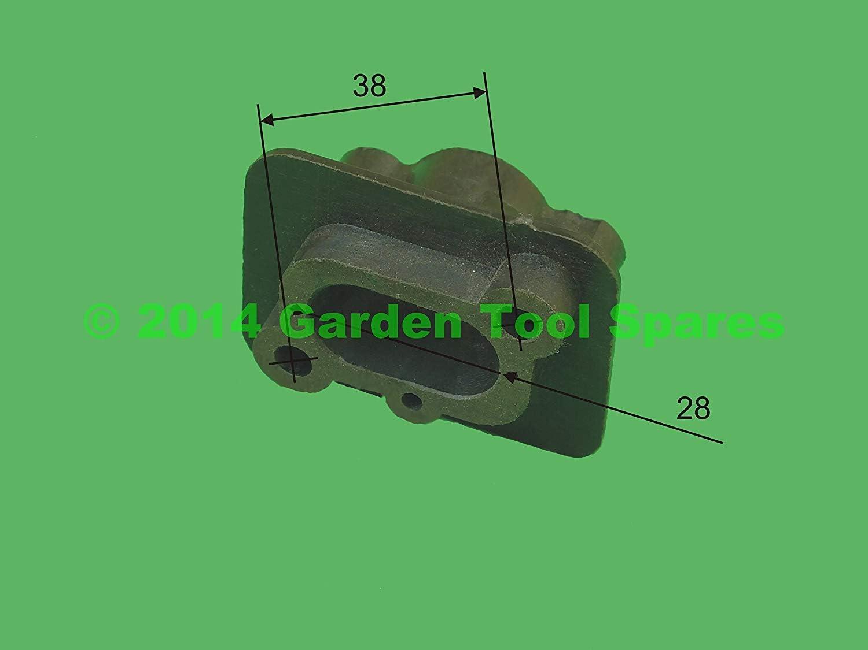 Carburador Adaptador Separador para Varios 43CC 52CC Desbrozadora: Amazon.es: Bricolaje y herramientas