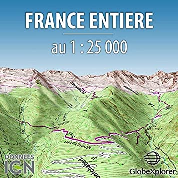 Topographic Map France.Topographic Map Of France App Pack Scale 1 25000 Amazon Co Uk