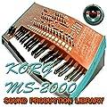 KORG MS20 - HUGE Original Samples Library in WAVE/Kontakt format on DVD or download by SoundLoad
