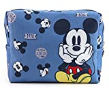 Disney Travel Cosmetic Pouch Bag Storage Zippered Canvas...