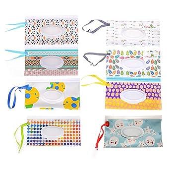 Amazon.com: 8 piezas de bolsa de limpieza húmeda para bebé ...