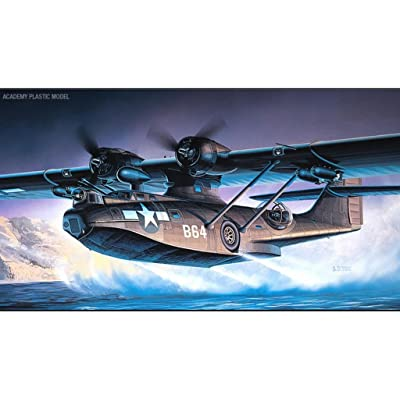 "Academy Consolidated PBY-5A Catalina ""Black Cat"": Toys & Games"
